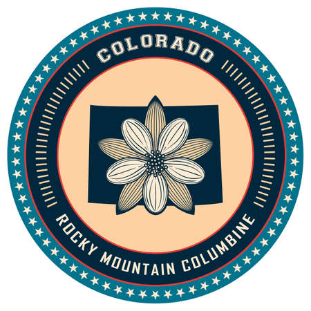 Colorado state label