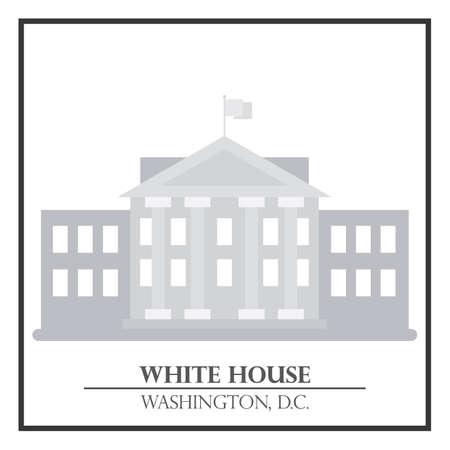 White House Vektorgrafik