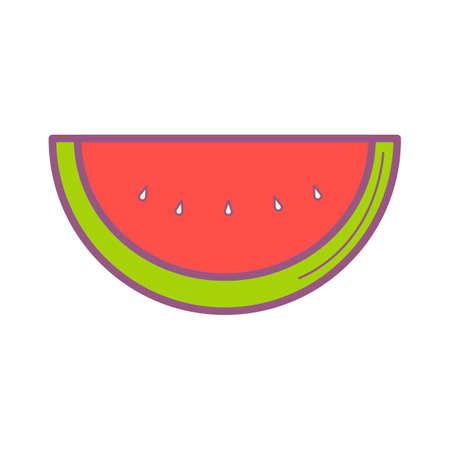 summer diet: Watermelonslice