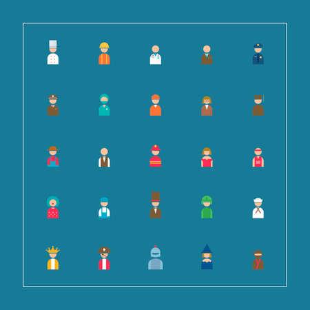 peasant woman: Collectionofpeopleandoccupation Illustration