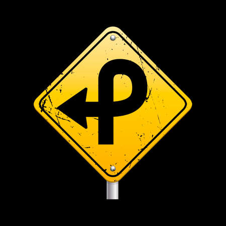 loop: Pretzel loop on right sign