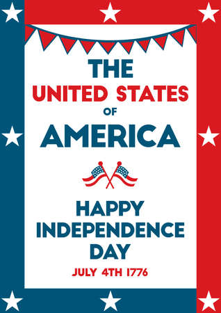 seventeen: USA independence day poster.