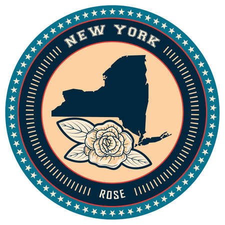 new york state: New york state label