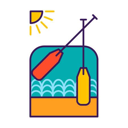 implementing: Oars Illustration