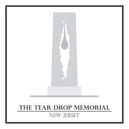 tear drop: The tear drop memorial