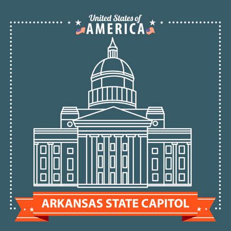 capitol: Arkansas state capitol