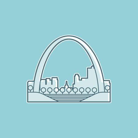 lightweight: Gateway arch