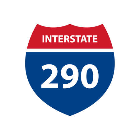 interstate: Interstate 290 road sign