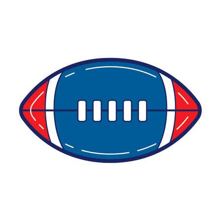 touchdown: Americanfootball Illustration