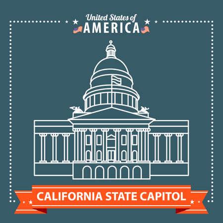 california state: California state capitol