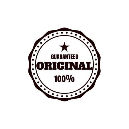 Guaranteed original label