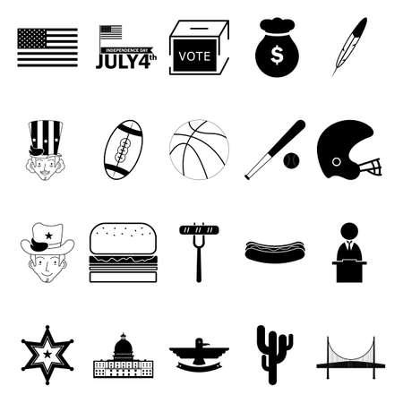 narrows: USA icons