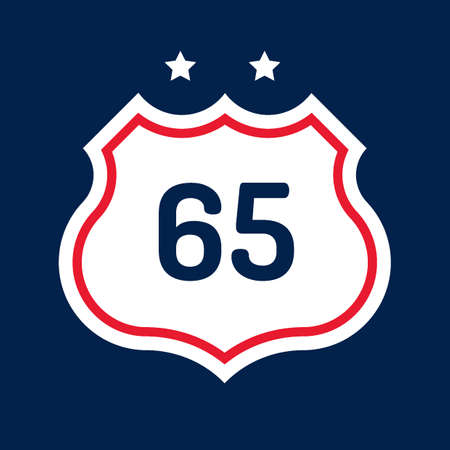 65: Route 65 road sign