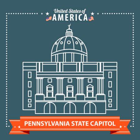 pennsylvania: Pennsylvania state capitol