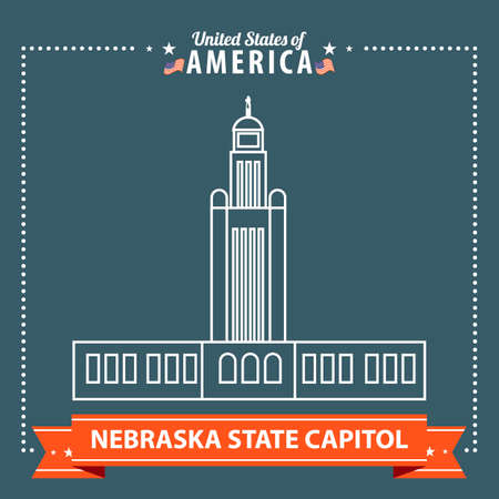 the capitol: Nebraska state capitol