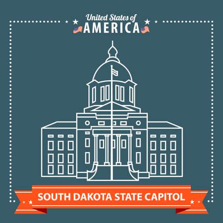 dakota: South Dakota state capitol
