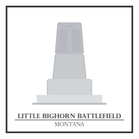 battlefield: Little bighorn battlefield