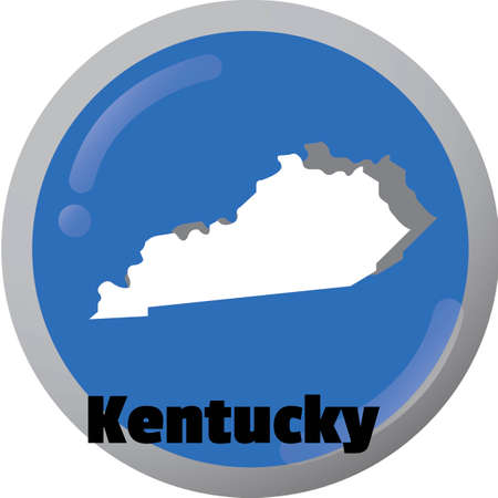 kentucky: Kentucky state map