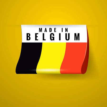 belgium: Made in belgium label