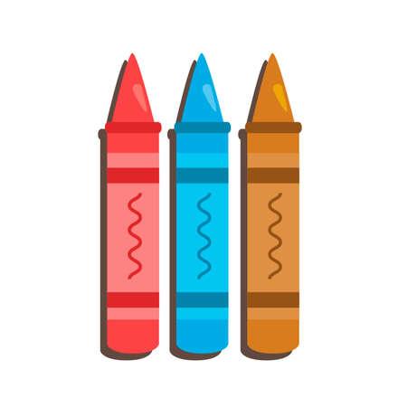 crayons: Crayons Illustration