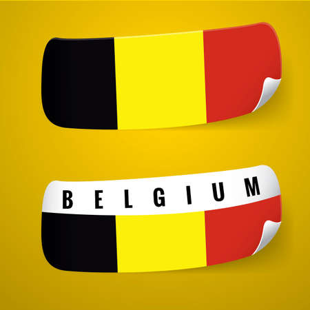 flag: Belgium flag sticker