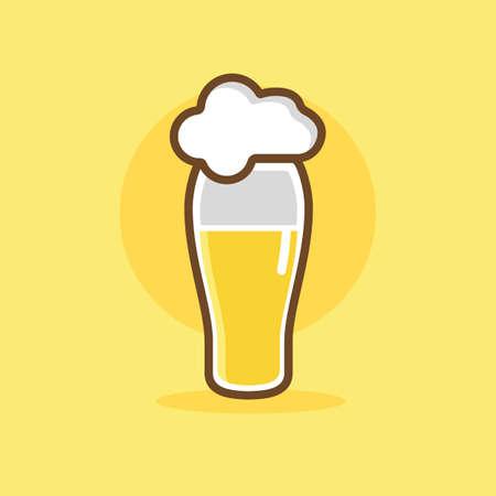 tumbler: Beer Illustration