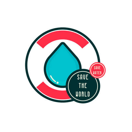 ahorrar agua: Save water save the world