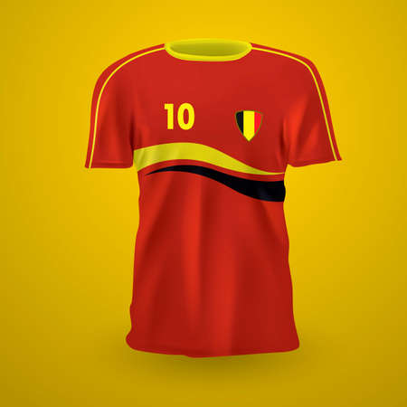 menswear: Belgium soccer jersey