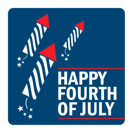fourth july: Happy fourth july design