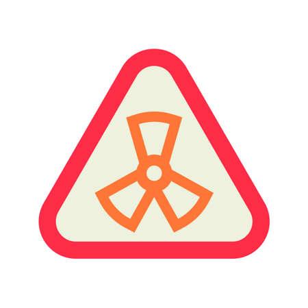 contaminate: Radiation symbol