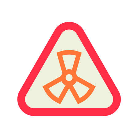 fission: Radiation symbol