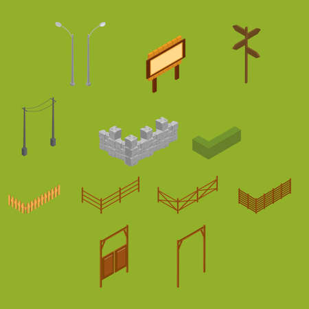 boundaries: Isometric boundaries and poles Illustration