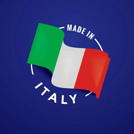 origin: Made in italy label