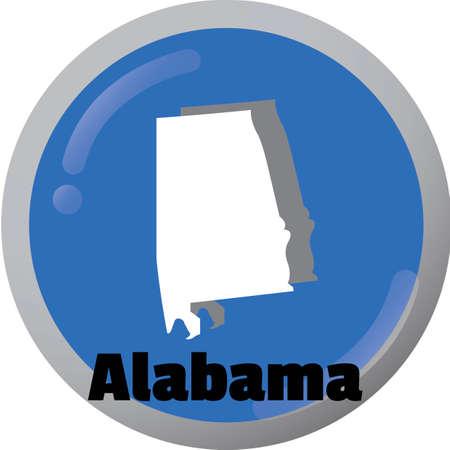 alabama state: Alabama state map