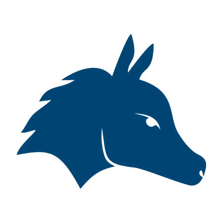 democratic: Democratic donkey symbol