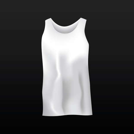 camisole: Singlet Illustration