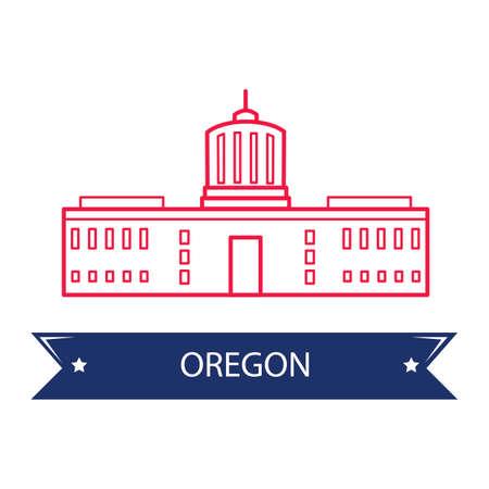state of oregon: Oregon state capitol