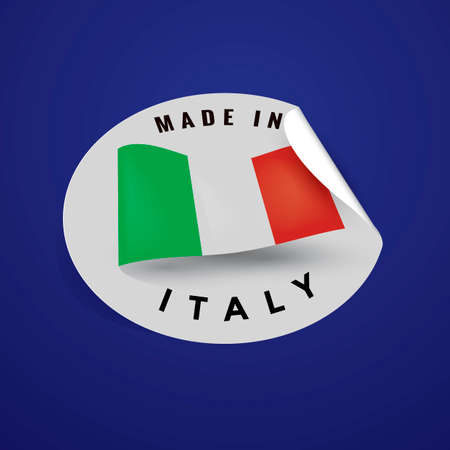 authenticity: Made in italy label
