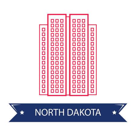dakota: North dakota state capitol