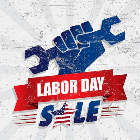 Labor day sale design