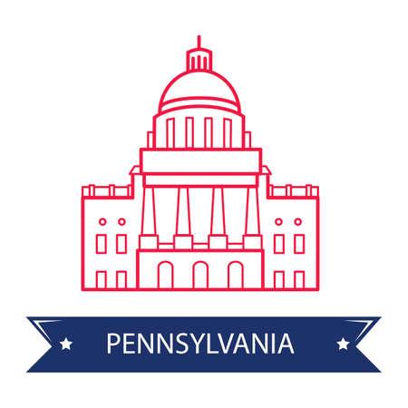 capitol: Pennsylvania state capitol