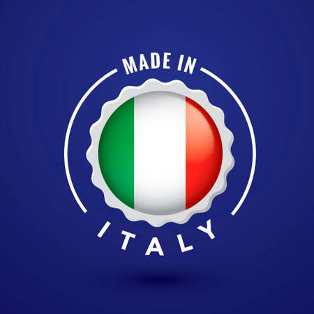 em: Made in italy label