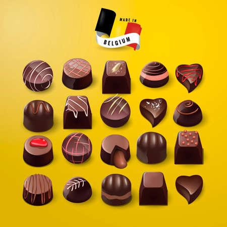 made in belgium: Made in belgium chocolates