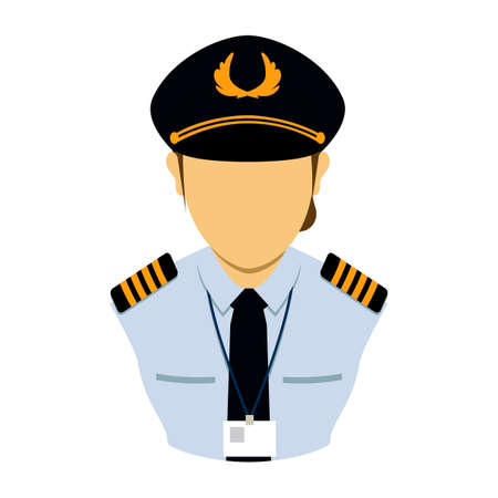 air: Air force officer Illustration