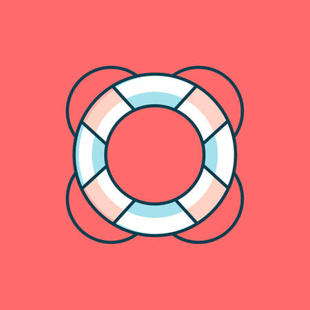 survive: Lifebuoy Illustration