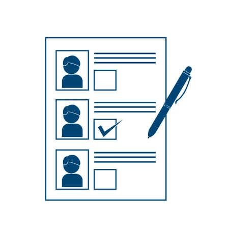 ballot paper: Ballot paper