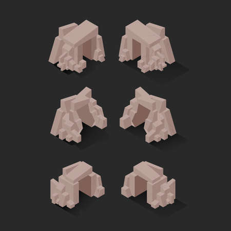 cave's: Isometric caves