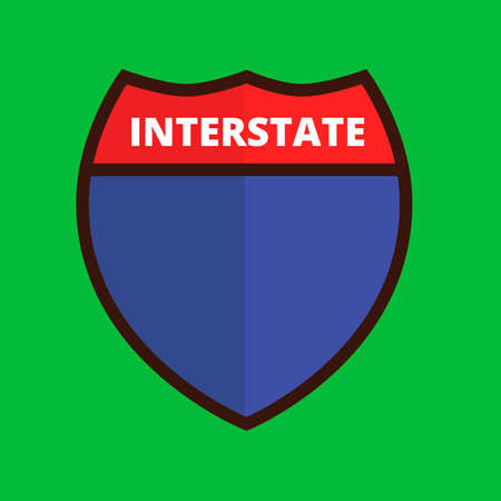 interstate: Interstate route sign