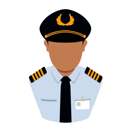 force: Air force officer Illustration