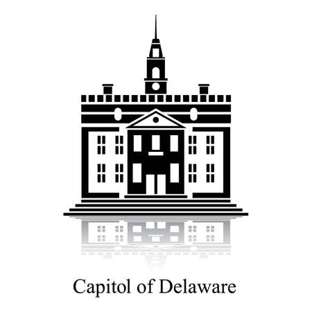 built structure: Capitol of delaware